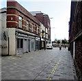 ST3188 : East along Market Street, Newport by Jaggery