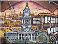 SD7208 : Bolton's History Mural - The Town Hall by David Dixon