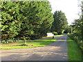 SU0695 : Country lane near Cerney Wick by Malc McDonald