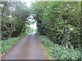SU0695 : Wickwater Lane, near South Cerney by Malc McDonald