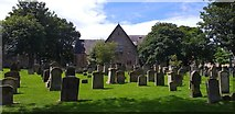NS3321 : Auld Kirk of Ayr graveyard by Colin Kinnear