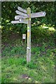SO4382 : Fingerpost, Onny Meadows, Craven Arms, Shrops by P L Chadwick