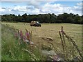NS5375 : Bringing in the bales by Richard Sutcliffe