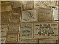 SE2638 : The Columbarium at Lawnswood - memorial tablets by Stephen Craven
