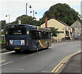 SO2508 : X24 Gold bus in the south of Blaenavon by Jaggery