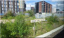 SJ8298 : Ordsall Lane Junction sign by Thomas Nugent