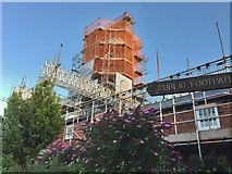 TA0233 : Scaffolding update: Skidby Mill by Paul Harrop