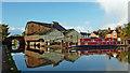 SJ6834 : Wharf and Betton Mill, Market Drayton, Shropshire by Roger  Kidd