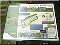 SU8699 : Information Board at Prestwood Local Nature Reserve by David Hillas