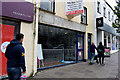 H4572 : Shop sign removed, High Street, Omagh by Kenneth  Allen