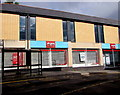SO2800 : Bus stop and shelter outside Argos, Pontypool by Jaggery