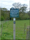 SJ9289 : PNFS sign, Midshires Way near Offerton by Dave Dunford