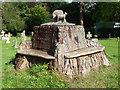 ST5233 : A sculpted stump by Neil Owen