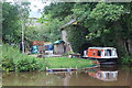 SO0825 : Boat at former boathouse, Old Storehouse by M J Roscoe