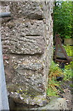 NY7513 : Benchmark on Little Musgrave Farm by Roger Templeman