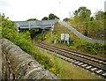 NS5967 : Fountainwell Overbridge by Richard Sutcliffe