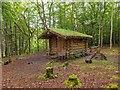 NH5542 : Reelig Community Log Hut by valenta