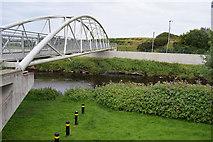 H4473 : Footbridge, Lisanelly / Conywarren by Kenneth  Allen