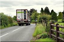 H4277 : Traffic along Gortnagarn Road by Kenneth  Allen