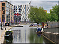 SJ8598 : New Islington Branch, Rochdale Canal by David Dixon