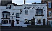 SY6778 : The Kings Arms by N Chadwick