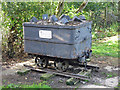 NY9266 : Pit tub at the (former) Acomb colliery by Mike Quinn