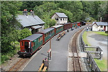 SH6441 : Covid 19 special at Tan-y-Bwlch by Richard Hoare