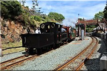 SH6441 : Number 5 leaves for Porthmadog by Richard Hoare