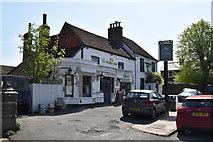 TQ5935 : The George Inn by N Chadwick