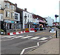 ST6390 : Zebra crossing, High Street, Thornbury by Jaggery