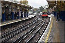 TQ1880 : Piccadilly line train, Ealing Common by N Chadwick
