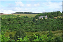 NJ1149 : Cottage at Auchness by Anne Burgess