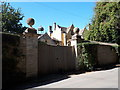 SP1007 : Gateway to Ablington Manor, Potlickers Lane by Vieve Forward