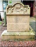 NS5036 : Andrew Richmond's Grave - Galston Parish Church by Raibeart MacAoidh