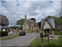 SU2991 : St John, Fernham: early August 2020 by Basher Eyre