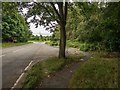 SK3414 : Entrance to an abandoned layby, Measham Road, Ashby-de-la-Zouch by Oliver Mills