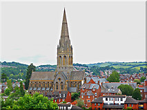 SX9192 : St Michael and All Angels Church, Mount Dinham, Exeter by Chris Allen