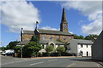 NS5036 : Galston Parish Church view by Mary and Angus Hogg