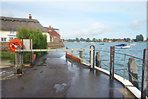 SU8003 : High Tide at Bosham by Des Blenkinsopp