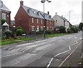 SO8005 : Zebra crossing on a Bath Road hump, Stonehouse by Jaggery