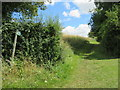 SP3824 : Public bridleway near Enstone by Malc McDonald