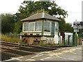 SK7252 : Fiskerton signal box by Alan Murray-Rust