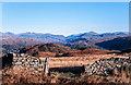 SD1298 : Gateway in dry stone wall along ridge of Muncaster Fell by Trevor Littlewood