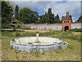 SP3626 : Disused fountain, Heythrop Park, near Chipping Norton by Malc McDonald