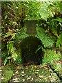 NS3478 : Old wellhead, Geilston Garden by Richard Sutcliffe