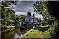 SK0021 : Colwich Lock Cottage and Lock, Trent & Mersey Canal by Brian Deegan