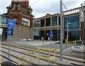 SJ7796 : Entrance to the Barton Arcade by Gerald England