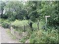 SJ0775 : Offa's Dyke Path near Brynllithrig Hall, Rhuallt by Eirian Evans
