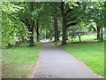 SU6252 : Path towards Winklebury Park by Sandy B