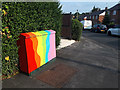 SE2435 : Utility cabinet with rainbow colours by Stephen Craven